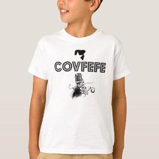 Camiseta Estrela do rock engraçada do trunfo de Covfefe do