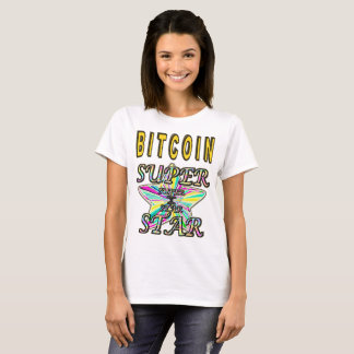 Camiseta Estrela mundial de Bitcoin