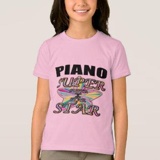 Camiseta Estrela mundial do piano