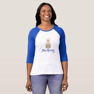 Camiseta Estrela que olha o coelho