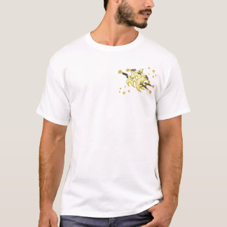 Camiseta estrelas de tiro