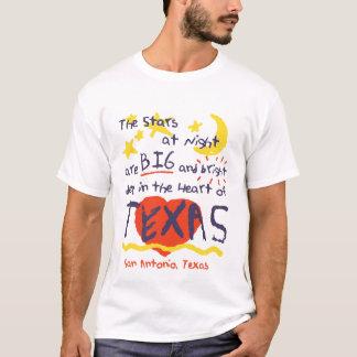 Camiseta Estrelas na noite, grande e brilhante, Texas