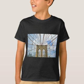 Camiseta Estrutura de construção da cidade de New York