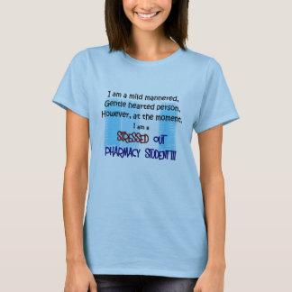 Camiseta estudante da farmácia FORÇADO PARA FORA