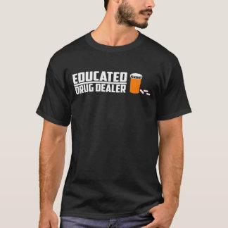 Camiseta Estudante educado da ciência do traficante de