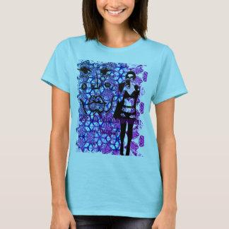 Camiseta etapa 1 a ser uma mulher: sobreviva ou grite
