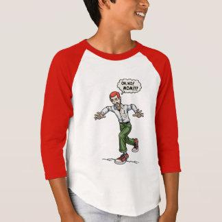 Camiseta Etapa em uma rachadura
