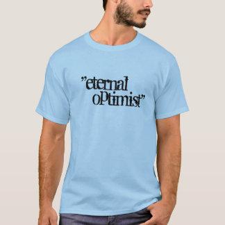 """Camiseta """"eterno, optimista """""""