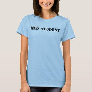 Camiseta Etiqueta do estudante do MED