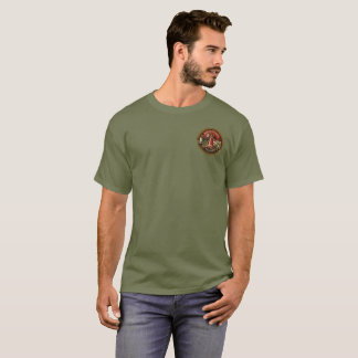 Camiseta Etiqueta do vintage da cerveja de Munchener