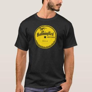 Camiseta Etiqueta dos registros do colibri