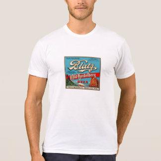 Camiseta Etiqueta velha da cerveja do vintage de Blatz
