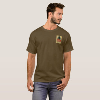 Camiseta Etiqueta velha do vintage da gim de Tom