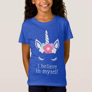 Camiseta Eu acredito em mim mesmo