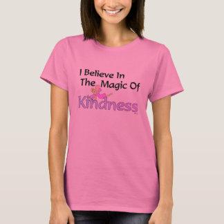 Camiseta Eu acredito na mágica do t-shirt da bondade