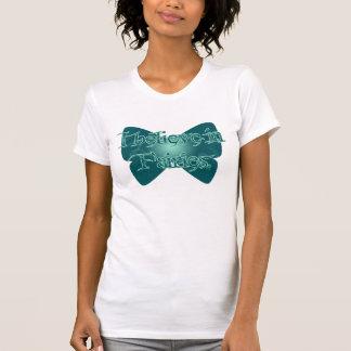 Camiseta Eu acredito nas fadas