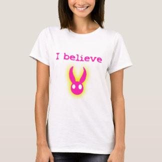 Camiseta Eu acredito (no coelhinho da Páscoa)
