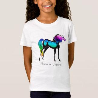 Camiseta Eu acredito nos unicórnios