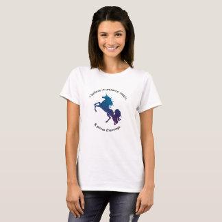 Camiseta Eu acredito o t-shirt
