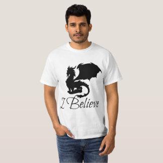 Camiseta Eu acredito o t-shirt do dragão