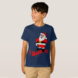 Camiseta Eu acredito Papai Noel