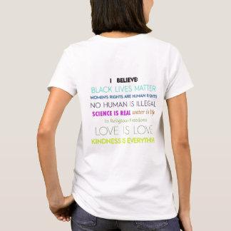 Camiseta Eu acredito: T-shirt