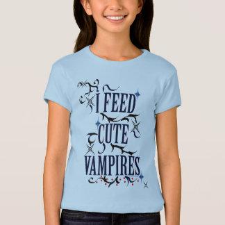 Camiseta Eu alimento vampiros