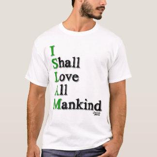 Camiseta Eu amarei