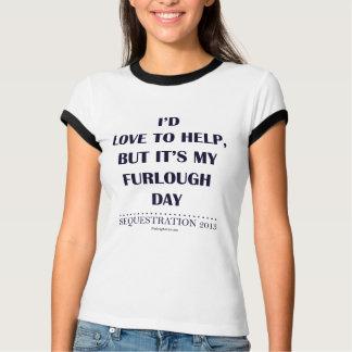 Camiseta Eu amaria ajudar, mas…