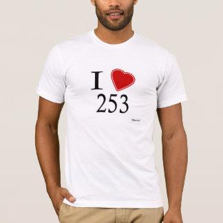 Camiseta Eu amo 253 Tacoma