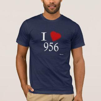 Camiseta Eu amo 956 Laredo