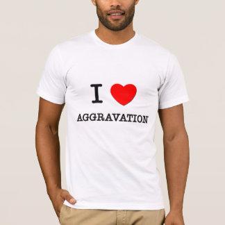 Camiseta Eu amo a agravação