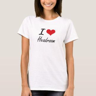 Camiseta Eu amo a altura livre
