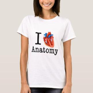 Camiseta Eu amo a anatomia