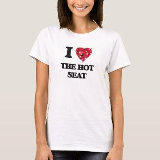 Camiseta Eu amo a cadeira eléctrica