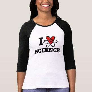 Camiseta Eu amo a ciência