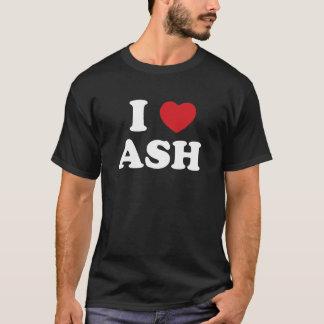 Camiseta Eu amo a cinza