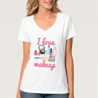 Camiseta Eu amo a composição