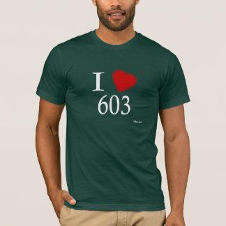 Camiseta Eu amo a concórdia 603