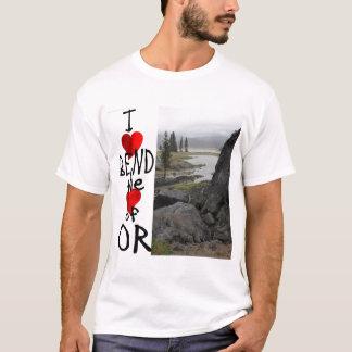 Camiseta Eu amo a curvatura