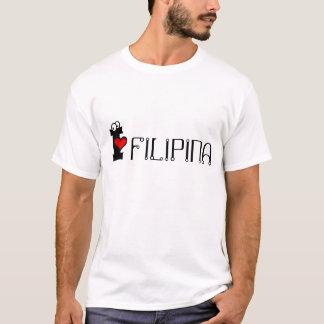 Camiseta Eu amo a filipina