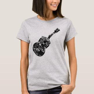 Camiseta Eu amo a guitarra