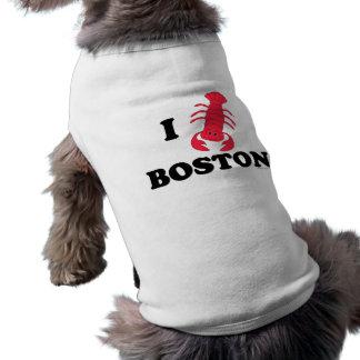 Camiseta Eu amo a lagosta de Boston