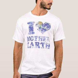 Camiseta Eu amo a Mãe Terra