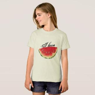 Camiseta eu amo a melancia