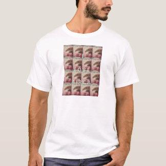 Camiseta Eu amo a montanha A de África Hakuna Matata