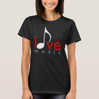 Camiseta Eu amo a música