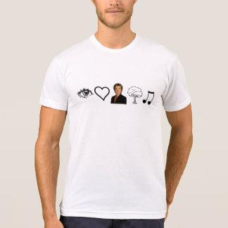 Camiseta Eu amo a música country
