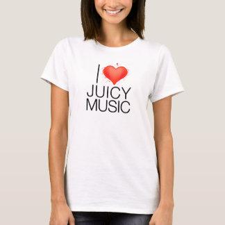 Camiseta Eu amo a música suculenta