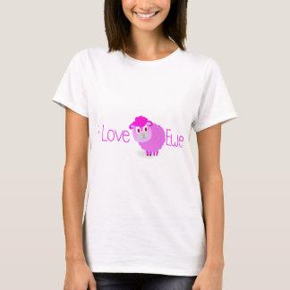 Camiseta Eu amo a OVELHA